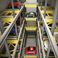 Multi-floor cart type automatic car parking lot control system