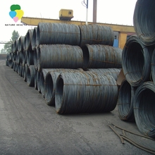 Chinese manufacture supplier 5.5mm quality high carbon hot rolled steel ms wire rod