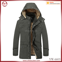 Wholesale European old fashion leisure style 100% cotton Mens Jacket