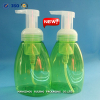 2015 new style 150ml 250ml 300ml plastic foam pump bottle