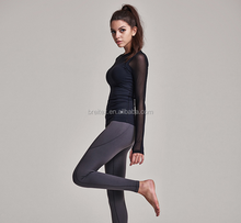 wholesale cheap cationic OEM women sportswear rowing , Sexy Women Trainning Jogging Wear <strong>Sports</strong> Tops