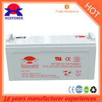 factory price sealed lead acid battery 12V120ah ups battery for ups system