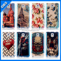 2014 new design TPU soft blue mirror mobile phone case for iphone5 iphone5s (OBS-M6097)