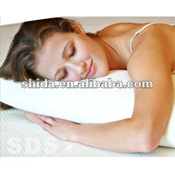 Contour-Foam Silver Neck-Support Pillow (Standard)