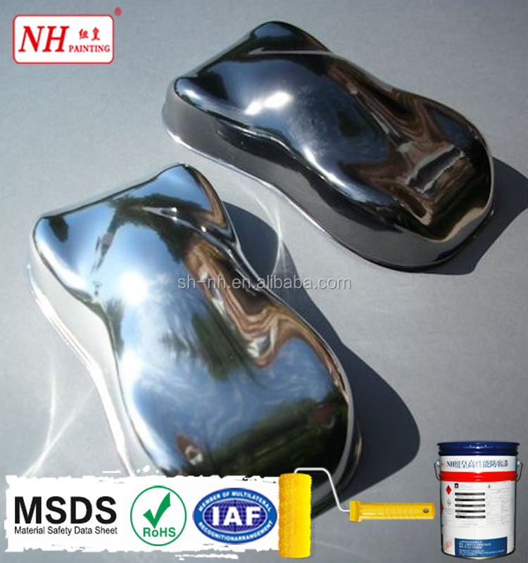 Factory price chrome effect mirror like spray powder coating powder paint