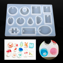 1Pc DIY Silicone Pendant Mold Jewelry Resin Mould Handcraft Ornament Making Tools Hot
