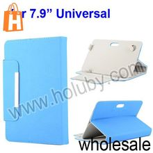 "Universal Folio Style Magnetic Flip Stand Leather Case for 7.9"" 7.85"" Tablet PC"