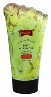 Foot Scrub Gel, To Refresh And Sooth Tired Feet.