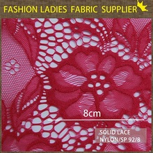 2014 fascinating pattern for women dress/accessories Indian cheap close chantilly lace fabrics