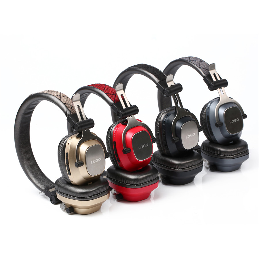 factory hot selling JY530 sport stereo foldable headband wireless bluetooth headset headphone with FM radio