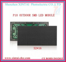 Stock outdoor full color P10 rgb 32x16 led module