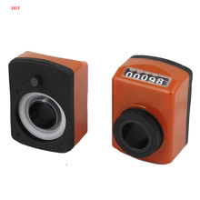 1.0mm axial pitch orange color mechanical digit position indicator