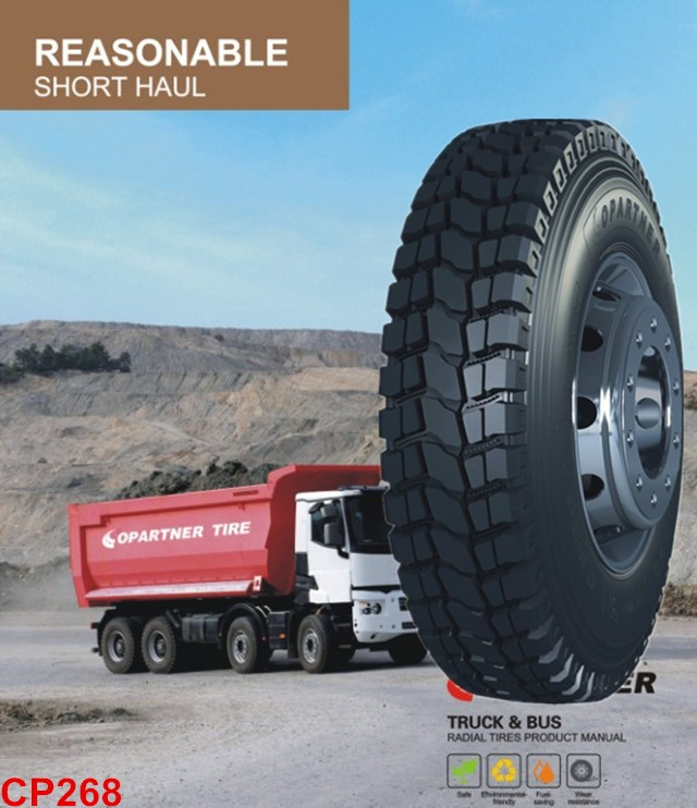 Good price Ocsen Truck tires ST 235/80R16-14PR