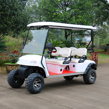 CE Approved 4 seater street legal, New 4 seats gas golf cart, off road