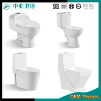 South american sanitary ware bathroom ceramic water closet siphonic public ceramica color chinese one piece wc toilet price