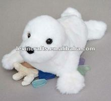 seal stuffed plush animal toy