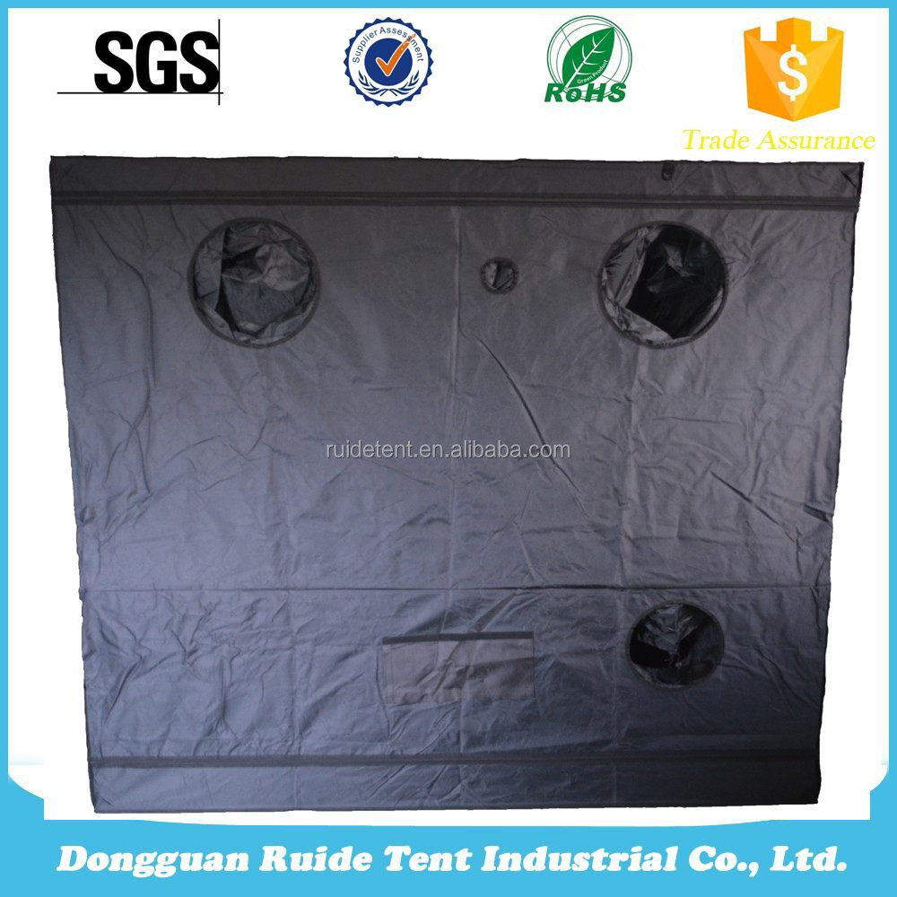 High Quality 210D High Reflective Mylar one stop gardens greenhouse grow tent