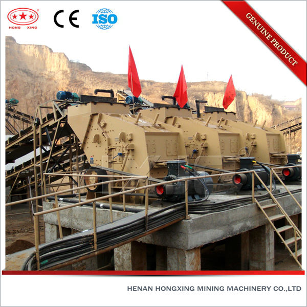 Large primary and secondary impact crusher with best service