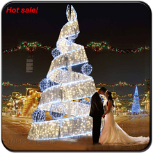 Best sale led supplier spiral christmas tree