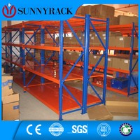 Medium duty long span shelving warehouse steel rack storage metal rack