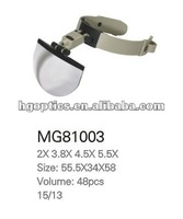 led magnifier/head magnifier/lighted magnifying stand