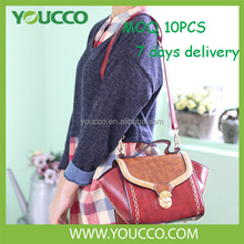 No minimum order very cheap designer children teen fashion polish handbag