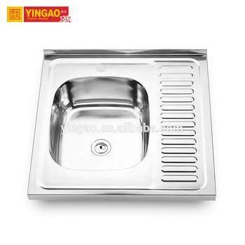 Reliable reputation sink unit, stainless steel trough sink