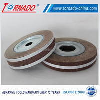 "TORNADO 10"" abrasive flap wheel for stainless steel and metal etc"