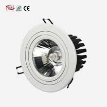 Top quality dimming spotlights 25w 35w ,2700k-5000k CCT pure white, 140mm cutout LED COB Ceiling Downlight