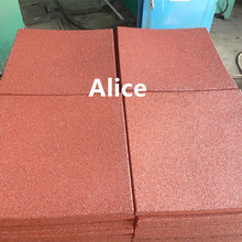 Guangneng rubber factory/car parking floor tiles/Interlocking rubber tiles