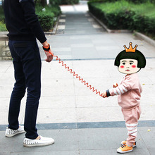 Brand 1.5m safety wristbands for kids children baby anti lost child baby walking stick assistant harness belt aid