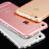 Top selling mobile products 2016,jewelled phone case,trend for iphone 6 case glitter