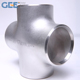 ANSI Butt welded Stainless Steel 4-way cross pipe fitting