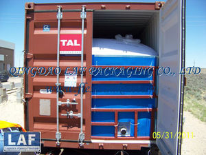 20ft container flexi bag for lube oil
