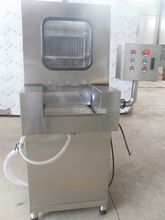 Automatic chicken meat brine injecting machine