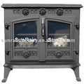 wood burning stoves/cast iron stove(Boiler option)