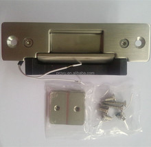 Stainless steel panel Electric strike adjustable Fail Safe or Fail Secure Standard Electric Door Strike PY-EL9