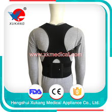 Best selling comfortable breathable outdoor posture corrector upper back clavicle brace support