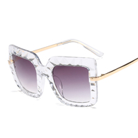 MS-810 Italian design Hand made nickel free diamond cutting women sunglasses uv400 yiwu China factory