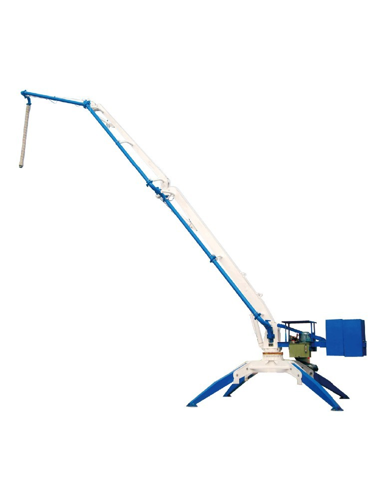 13m Mobile placing boom HGY13 concrete placing boom