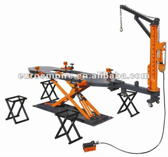 car rotisserie/auto body repair/frame straightening machine