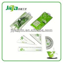 For distributor with offset ruler