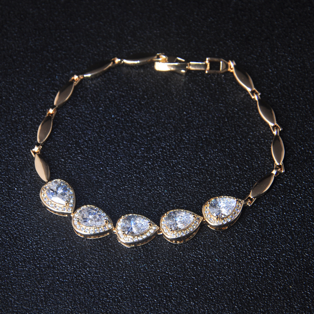 New Gold Chain Bracelet Designs With Watch Clasp