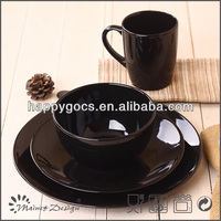 modern lead free casual stoneware dinnerware set