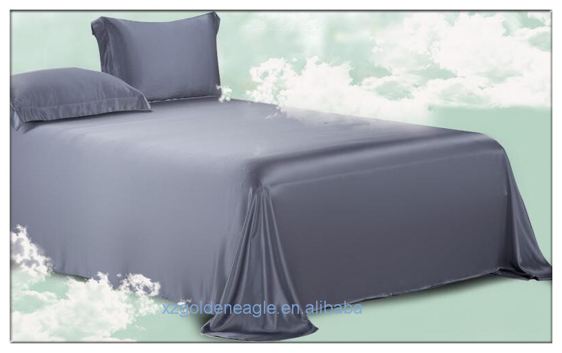 Popular Silk Bedding Sets--Navy Color