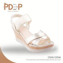 Most popular free sample good quality fashion ladies girls high heel sandals pictures
