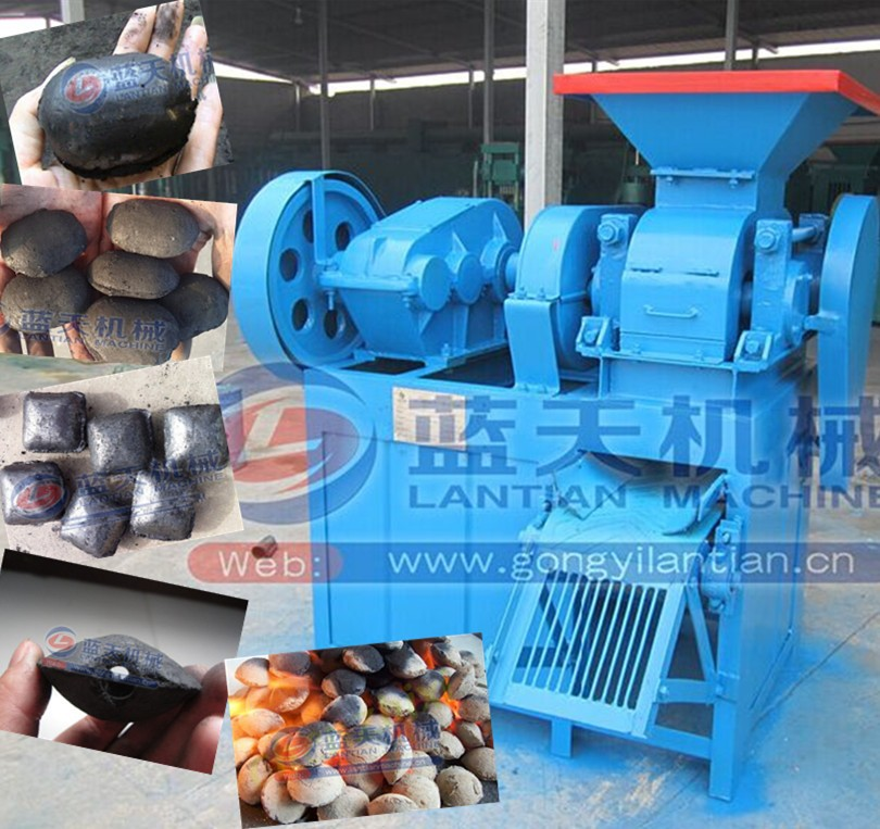 BBQ coal briquette making press machine charcoal ball machine