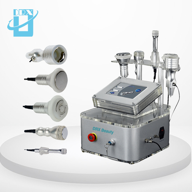 cooling theraopy vacuum fat reduce Cavitation RF Machine 5 in 1 Cavitation for Home Use