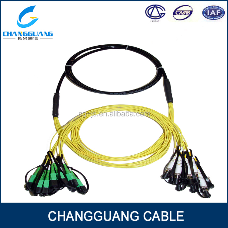 GJPFJU High Quality indoor anti-abrasion 6 core multimode corning fiber optic cable