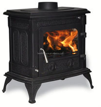 European Style Solid Fuel Cast Iron Wood Burning Stove On Promotion